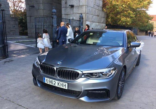 BMW SERIE 5 M SPORT SERVICO DE BODAS EN ZARAGOZA